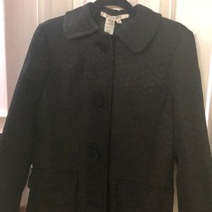 Max Sudio solid black coat (New with tags)